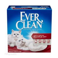 EVER CLEAN 特強芳香配方貓砂-適合多隻貓使用 (有香味) 25LB