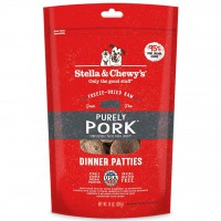 Stella & Chewy's 美國狗糧 - 凍乾脫水肉餅 Freeze Dried Purely Pork - 豬肉 狗配方 14oz
