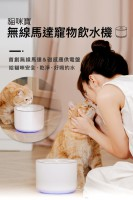 MIIIBO - 感應式水泵 電動寵物飲水機 寵物飲水器 易清洗  (紫色)
