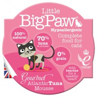 Little Big Paw – Gourmet Atlantic Tuna 大西洋吞拿魚慕絲餐盒 [貓用] 85G