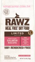 RAWZ Wild Caught Salmon Recipe 單一動物蛋白配方狗糧 - 三文魚 3LBS / 20LBS