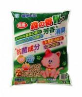 日本貓砂樂園-森之香凝結木砂 7L