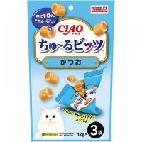 CIAO 鰹魚味流心粒粒 3 x12g CS-173