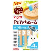 Ciao SC-322 Pure 鰹魚+帶子醬 (無添加) 14g (4本)