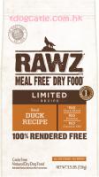 RAWZ real-duck-recipe 單一動物蛋白配方狗糧 - 鴨肉 3LBS / 20LBS