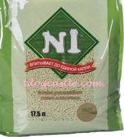 N1-Natural 天然綠茶 / 原味 豆腐砂 17.5L (3包)