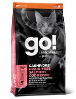 Go! CARNIVORE 活力營養系列 無穀物三文魚鱈魚 貓糧 16磅
