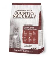 Country Naturals 無穀物雞肉鯡魚低敏感配方貓糧 Grain Free Chicken & Herring Recipe 3磅