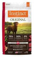 Nature's Variety Instinct 本能無穀物牛肉犬用糧 4lb