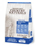 Country Naturals 無穀物三文魚白鮭魚配方狗糧 Grain Free Whitefish Meal Recipe 25磅