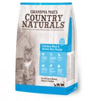 Country Naturals 鯡魚雞肉配方貓糧 Chicken Meal & Brown Rice Recipe 3磅