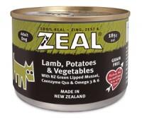 ZEAL – 紐西蘭羊肉、馬鈴薯、蔬菜 (成犬用) 185g