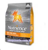 Nutrience INFUSION – 凍乾外層、鮮雞肉[小型成犬配方] 5磅($200) , 5磅x2包($367)