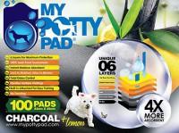 My Potty Pad  殿堂吸活性炭寵物尿墊 100片裝 (檸檬味) 33 cm x 45cm