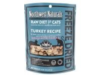 Northwest Naturals Raw Diet For Cats Turkey Recipe 冷凍脫水貓糧 11OZ X 4包 $1120