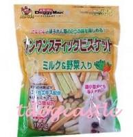 DoggyMan牛奶野菜手指餅 180G
