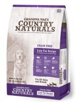 Country Naturals 無穀物防敏高纖配方狗糧 Grain Free Low Fat Recipe 4磅