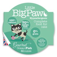 Little Big Paw – Gourmet Ocean Fish 大西洋海洋魚慕絲餐盒 [貓用] 85G