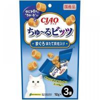 CIAO 吞拿魚、帶子味流心粒粒 3 x12g CS-172