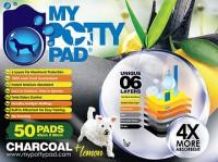 My Potty Pad  殿堂吸活性炭寵物尿墊 50片裝 (檸檬味) 45 cm x 60cm