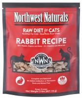 Northwest Naturals 凍乾全貓乾糧 - 兔肉 11OZ
