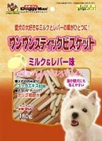 Doggy Man 牛奶雞肝手指餅 180g