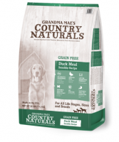Country Naturals 無穀物鴨肉防敏配方狗糧 Grain Free Duck Meal Sensible Recipe 4磅