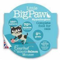 Little Big Paw – Gourmet Atlantic Salmon 大西洋三文魚慕絲餐盒 [貓用] 85G